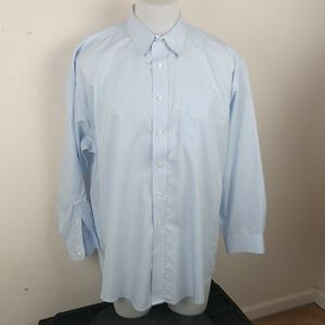 Jos. A. Bank Blue Men's Dress Shirt, Sz 17-33